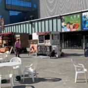 サカス広場のキッチンカー
