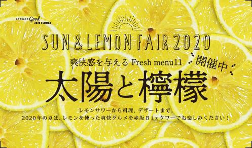 太陽と檸檬